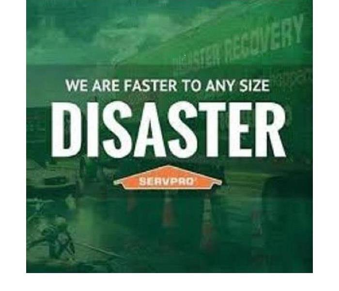 Storm Damage When STORMS RAGE ~ SERVPRO is FASTER to ANY SIZE DISASTER!