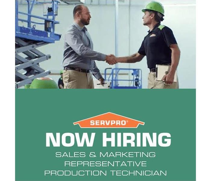 Why SERVPRO SERVPRO of The Bridgewaters is Hiring
